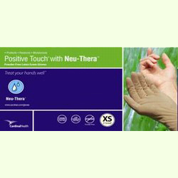 Cardinal Positive Touch Neuthera Latex Exam Glove