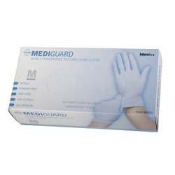 Medline Mediguard Nitrile Exam Gloves
